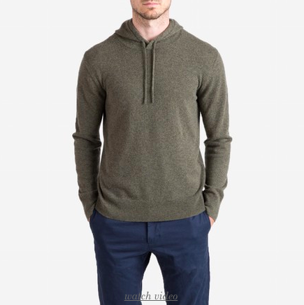 The Cashmere Hoodie - $140