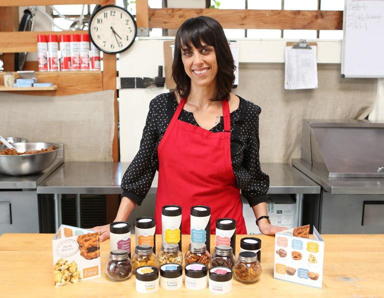 Julianna Carella: CEO de 'Auntie Dolores'. Foto de Ben Lin.