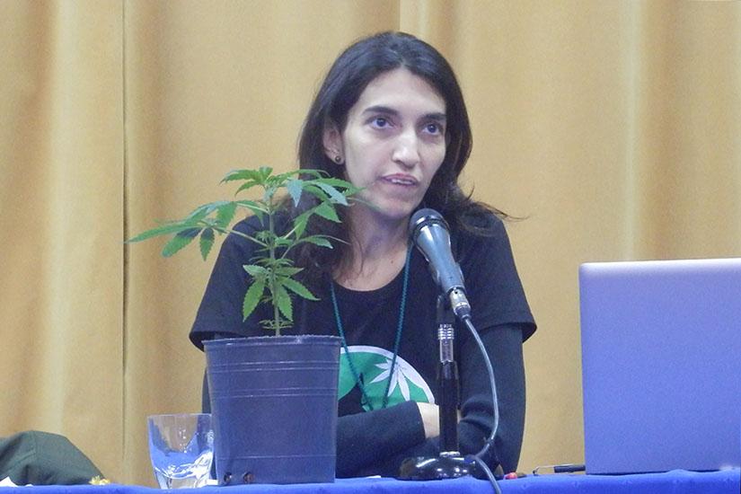 Foto de la agencia TAO, Ángela Chuffo.