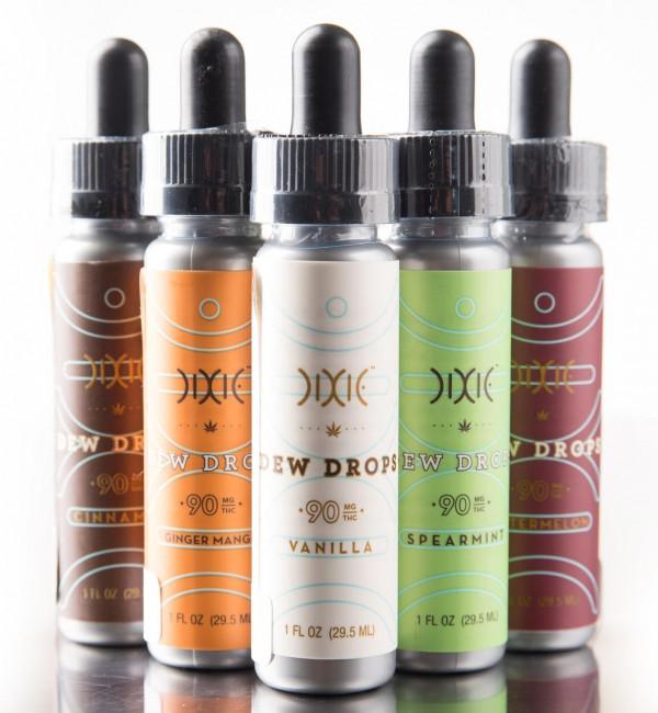 Elixir de la marca Dixie con cuentagotas.