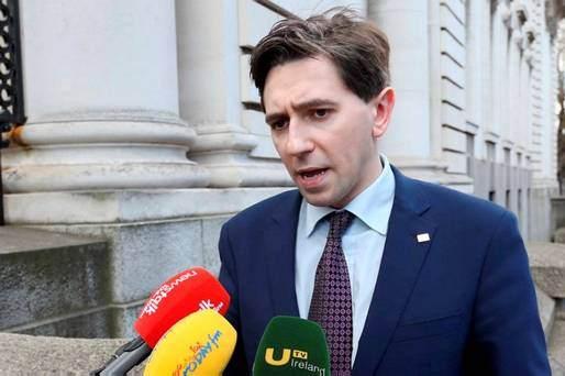 Simon Harris, Ministro de Salud irlandés.