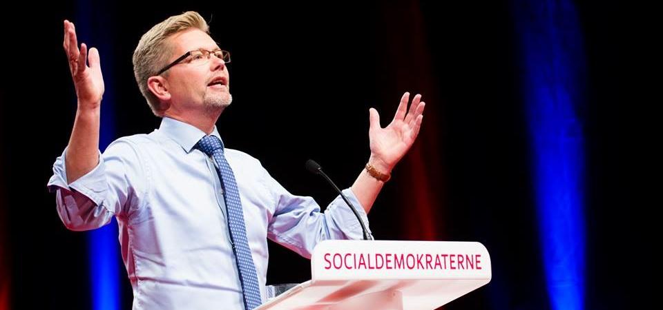 El alcalde de Copenhage Frank Jensen.