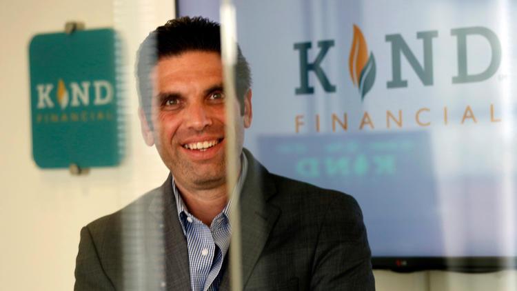 David Dinenberg, fundador y director ejecutivo de Kind Financial. Foto de Genaro Molina para 'Los Ángeles Times'.