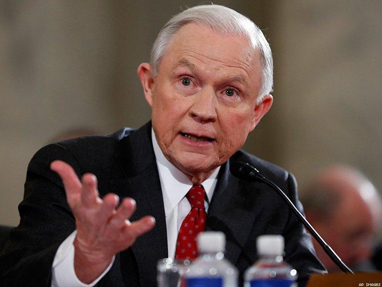 Jeff Sessions, Fiscal general de los Estados Unidos de América.
