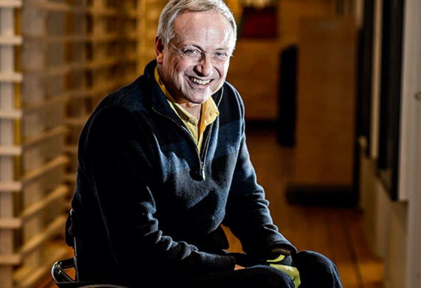 Claes Hultling, Doctor y fundador del Centro de Rehabiliación sueco 'Spinalis' y activista pro cannabis medicinal.