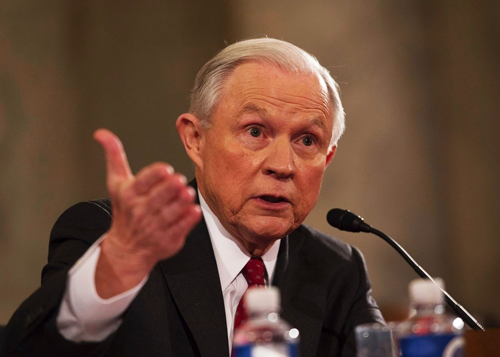 Jeff Sessions, Fiscal General de Estados Unidos.