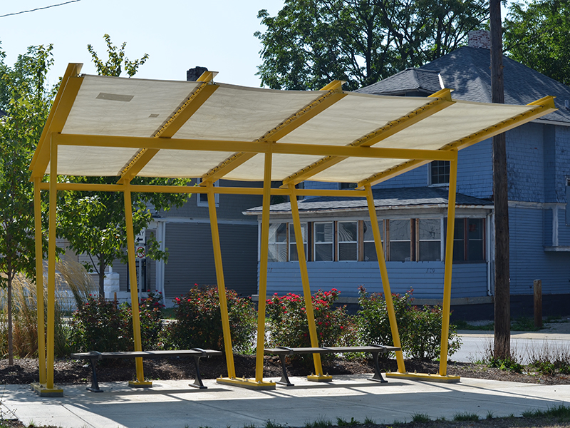 Dome products help fund community installations.
