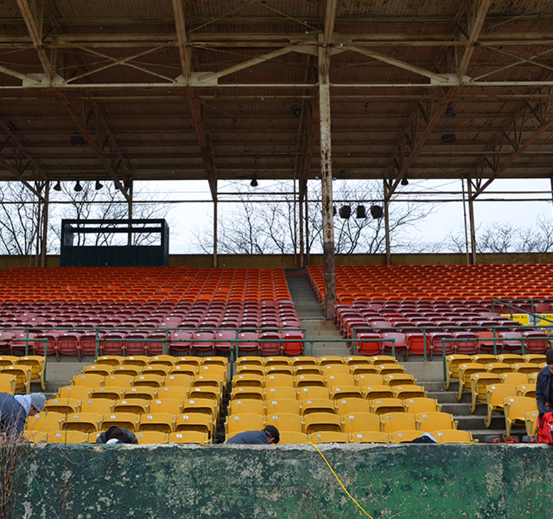 BUSH STADIUM SEATS   //  SALVAGE