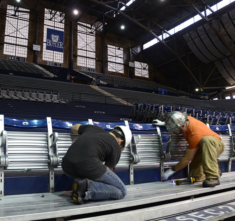 HINKLE FIELDHOUSE SEATS  //  SALVAGE