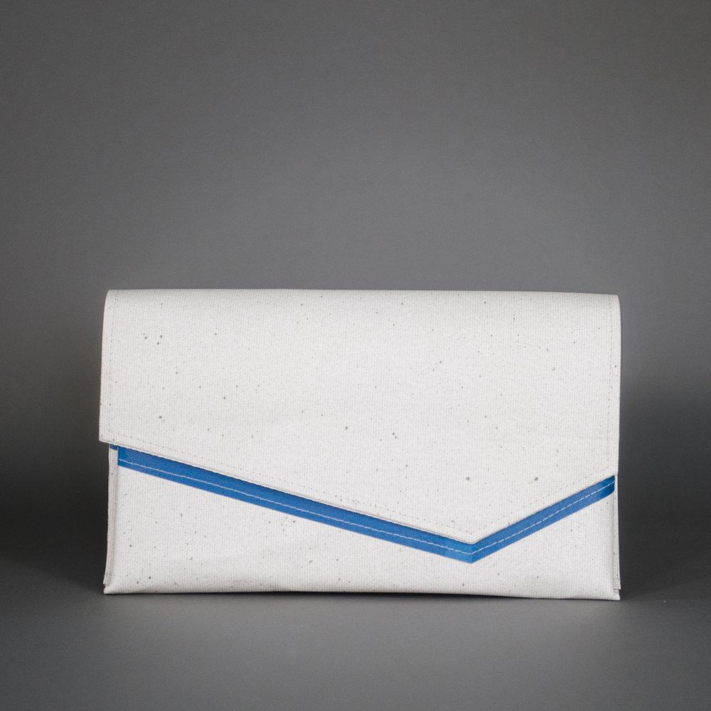 AMBASSADOR - Large Clutch Variants - White/Vinyl