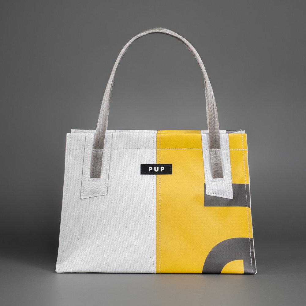 EXECUTIVE - Handbag Variants - White/Vinyl
