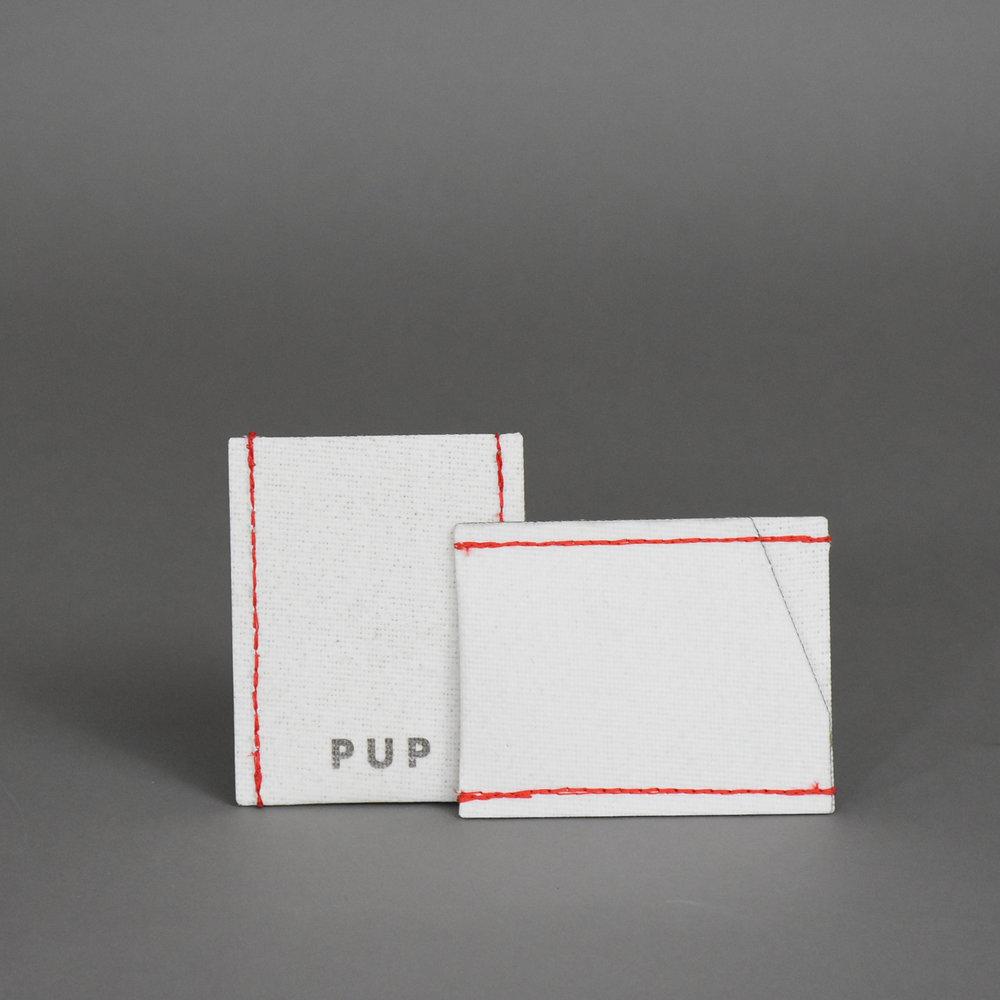 TROOPER - Card Holder Variants - Thread Color: Black/Gray/Hot Pink