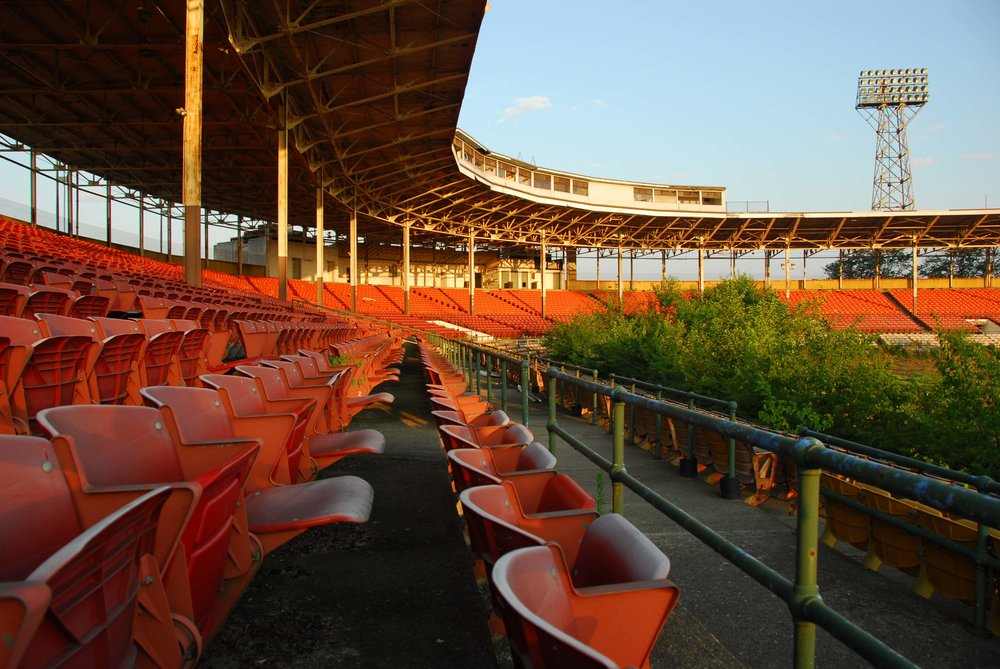 bush stadium seat salvage -