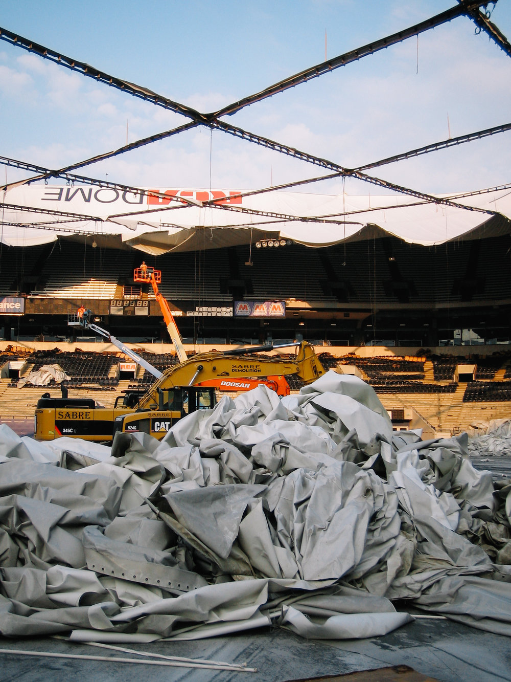 rca dome roof salvage -