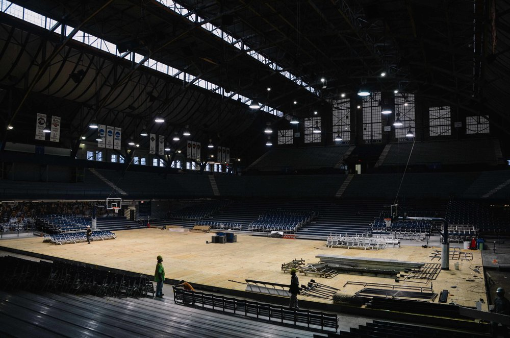 hinkle fieldhouse seats -