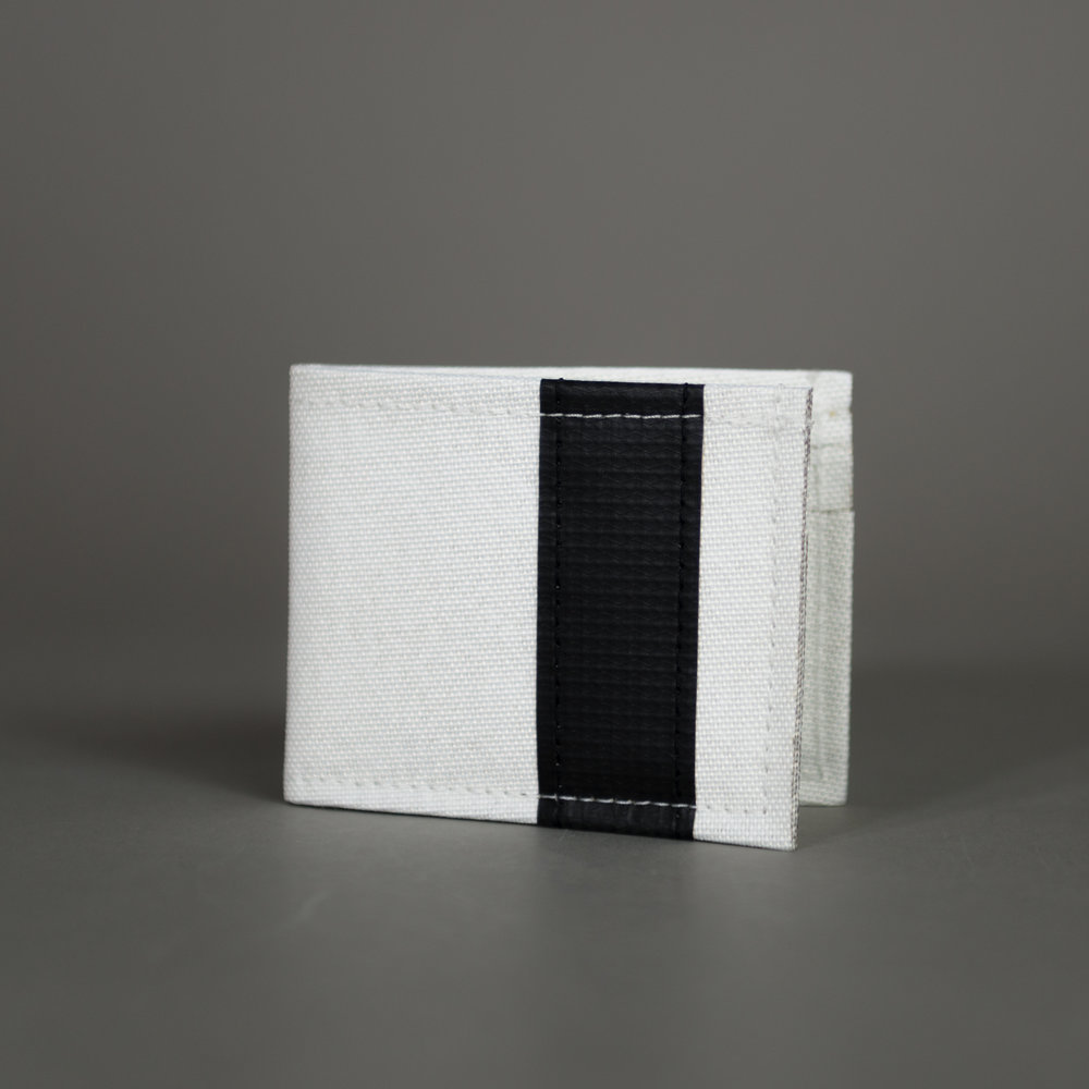 "CHIEF HIGHRISE - Bi-Fold Wallet   Variants: White/Black/Red/Green/Blue/Orange  Dims: 3.25""/4"" (folded)"
