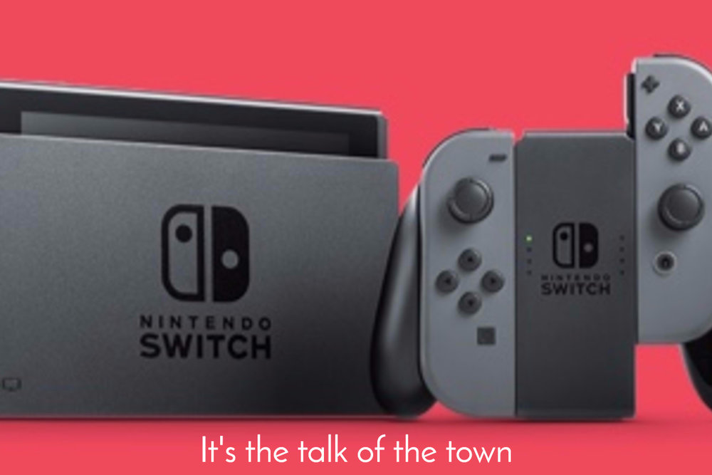 nintendo switch talk town