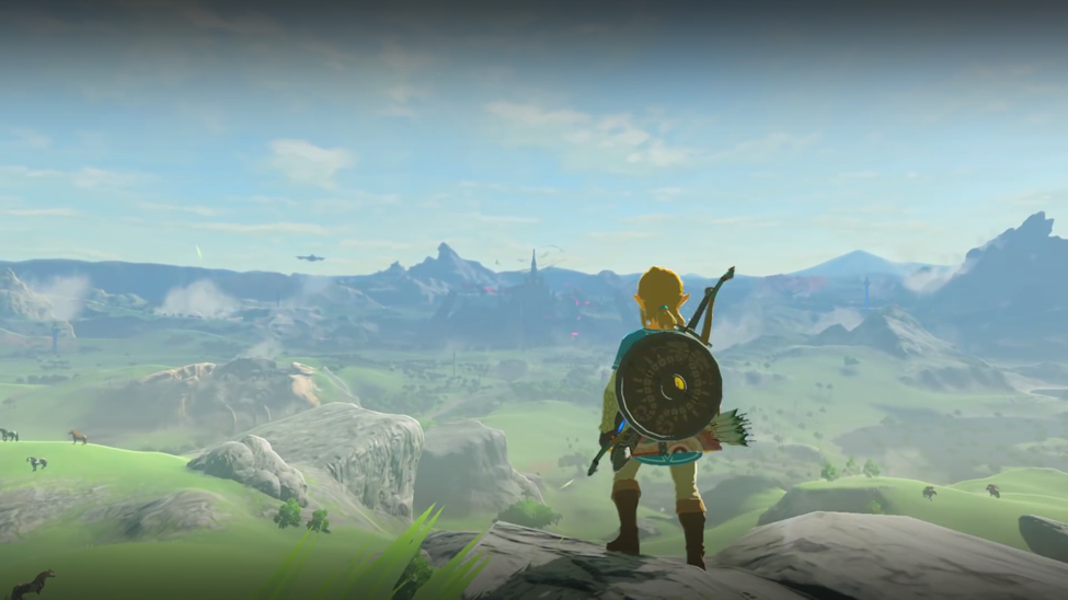 breath of the wild trailer landscape