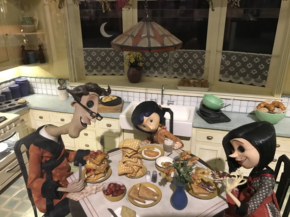 stop motion coraline