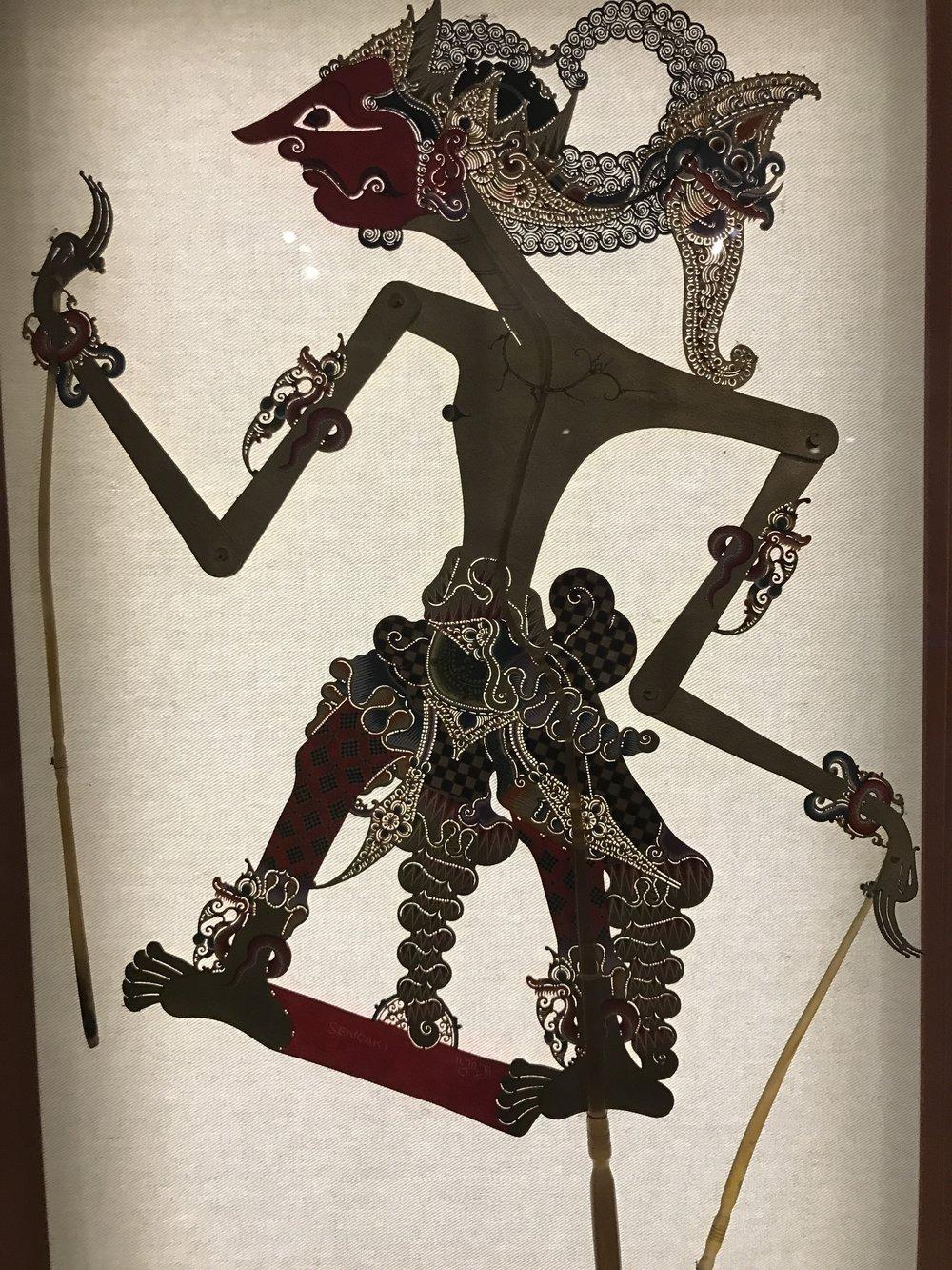 sencaki indonesian puppet
