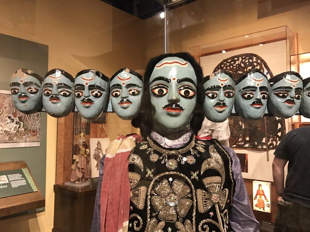 ravana indian puppet