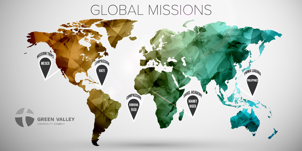 Global Missions Map