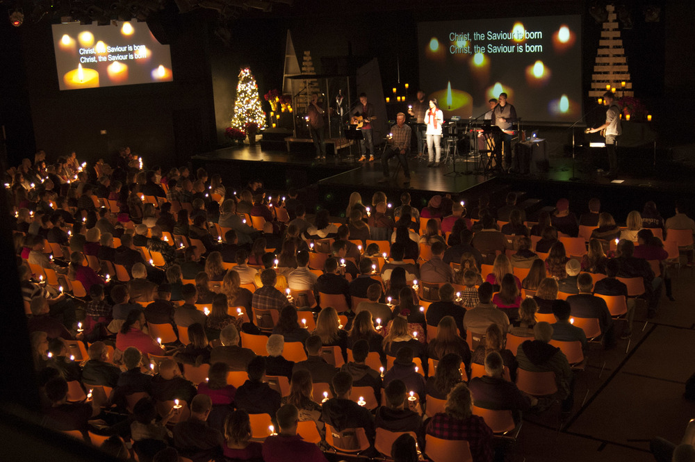 Candlelight Service at Green Valley Community Church 2015