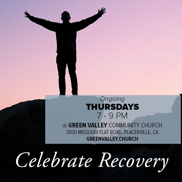 Celebrate Recover Thursdays at 7 PM