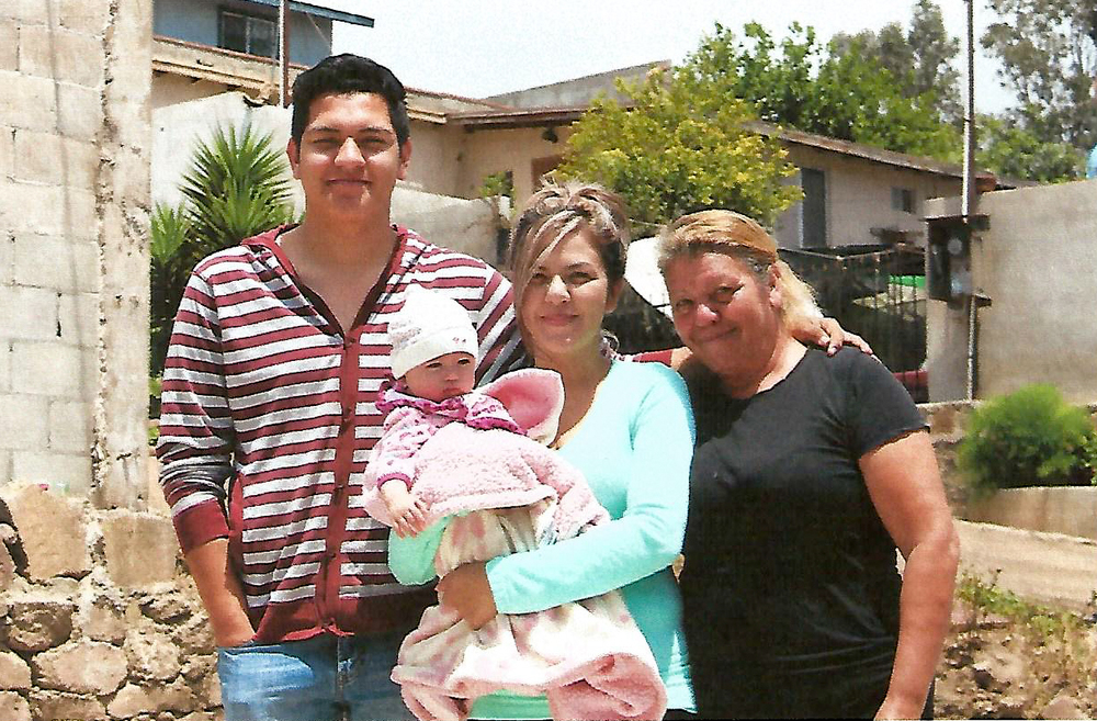 Hilda Curiel Family