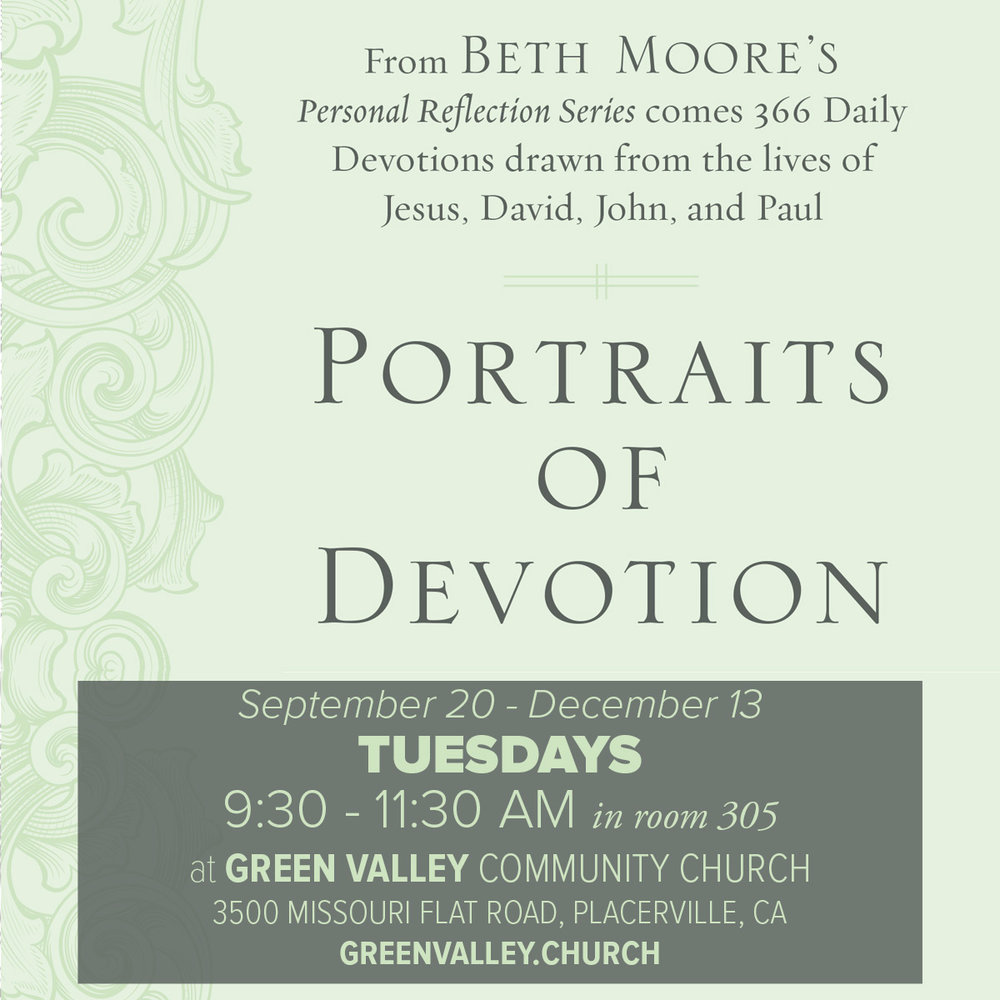 Portraits of Devotion Starts September 20!