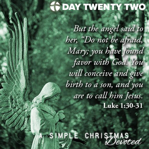 Luke 1:30-31