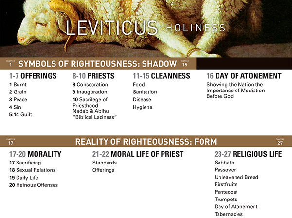 Leviticus Chart