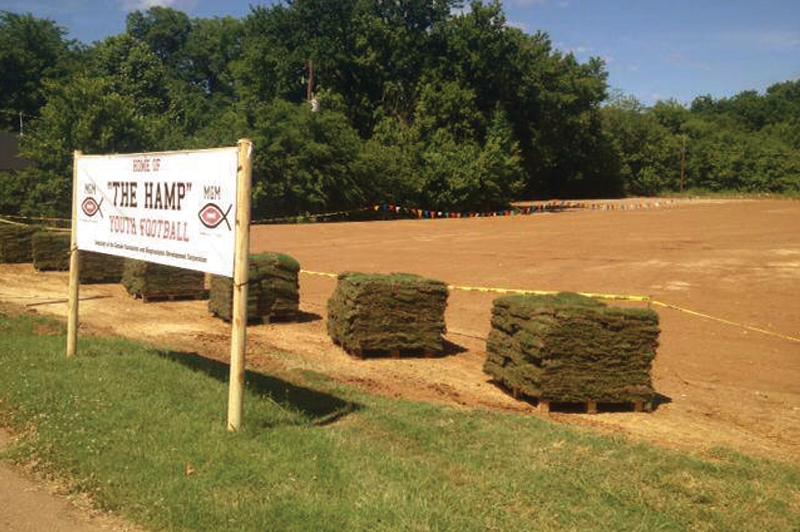 """The Hamp"" field initiative began in 2013"