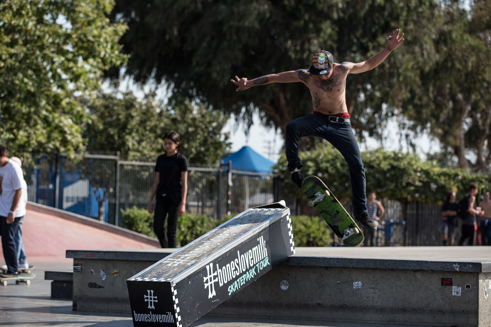 The Diamond Skatepark - Silverlake, California