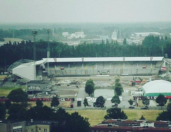 Het is bijna zover... #tribune #1 #Bosuil #rafc 🇦🇹 #Antwerp