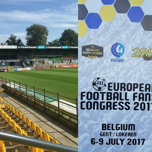 Vandaag zijn we aanwezig bij het European Football Fans Congress (@FansEurope) in Lokeren. ⚽ @SDEurope07 #RAFC 🇦🇹