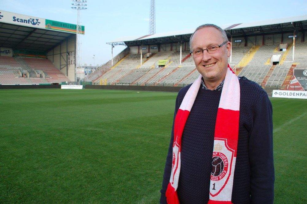 (foto: Steven Herman, voorzitter ASC Antwerp G fans)