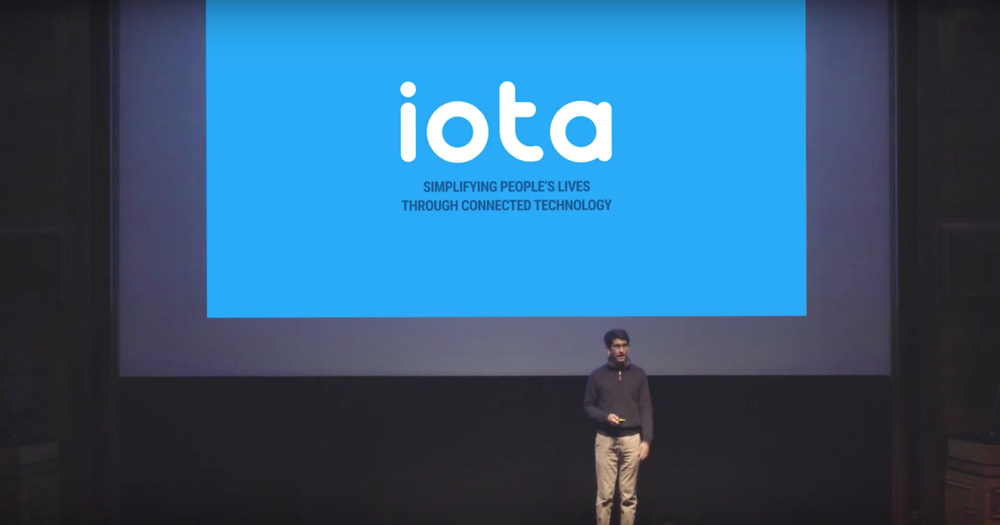 Iota Labs presenting at the Demo Day