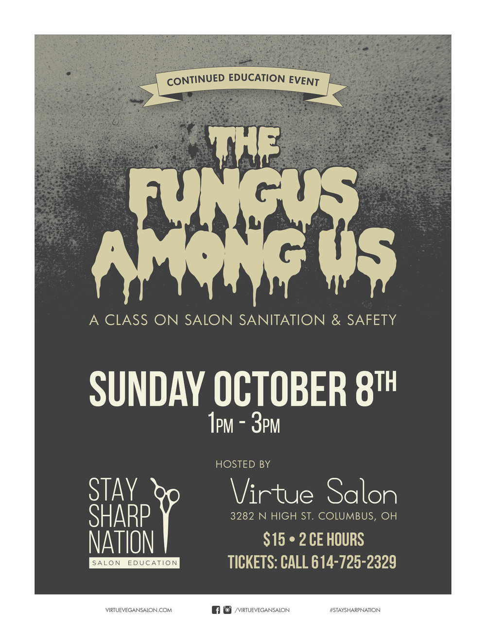 Stay Sharp Fungus Among Us 2017-10-08 Promo Poster-01.jpg