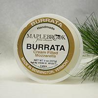 Mozzarella, Burrata  Vermont