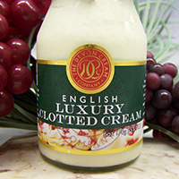 Clotted Cream 6 oz bottle UK