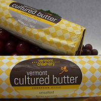 Vermont Cultured Butter 8 oz roll Vermont