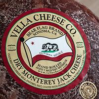 Monterey Jack, Dry  12 Mts California