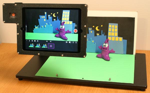 iPad-clay-animation