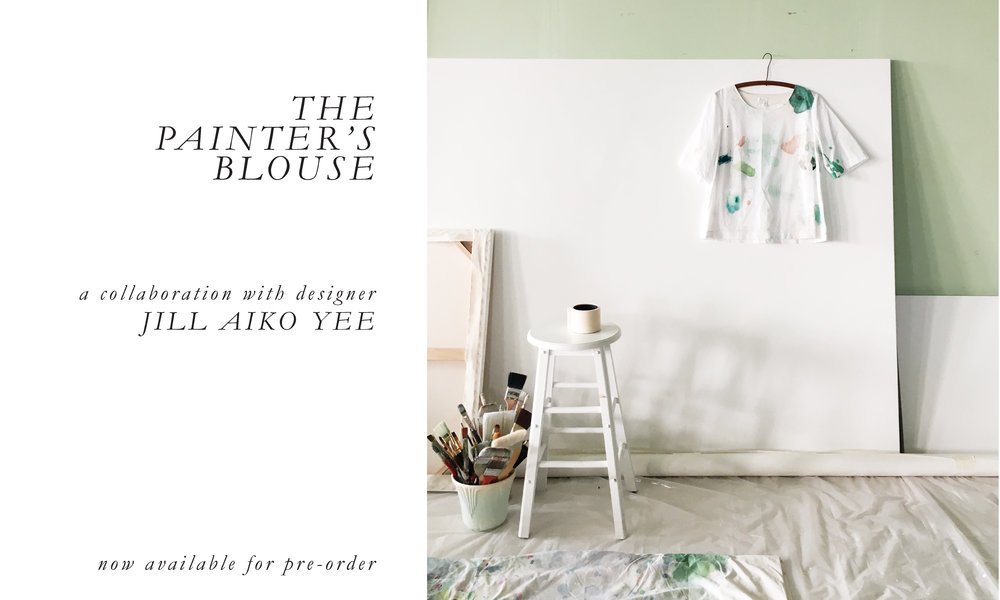 Jill Aiko Yee x Dani Schafer - The Painter's Blouse