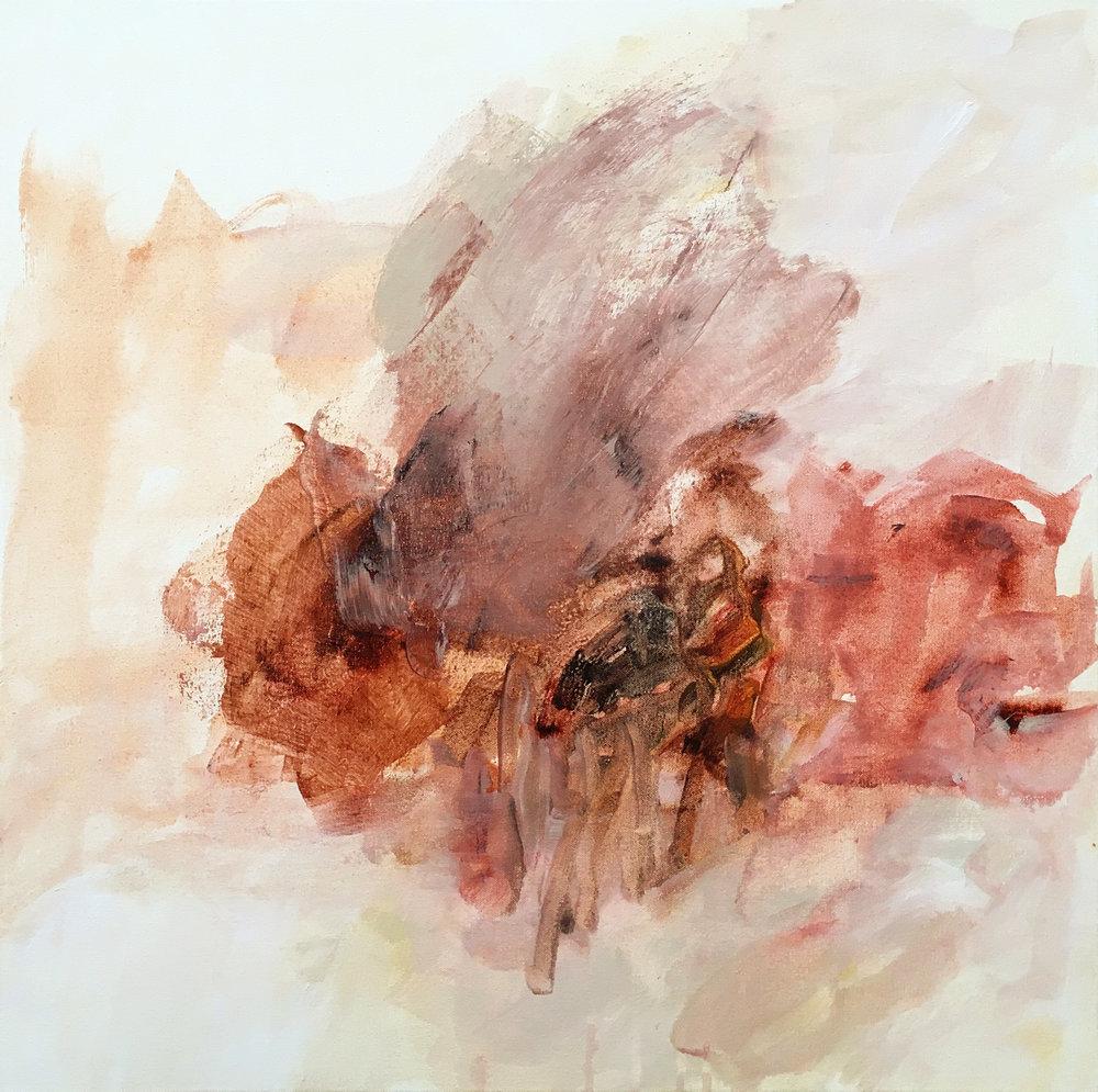 """acrylic on canvas, 24 x 24"""", 2017"""