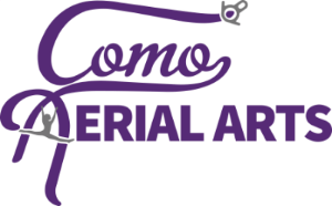The CoMo Aerial Arts logo was designed and produced by Mitchell Maglio.