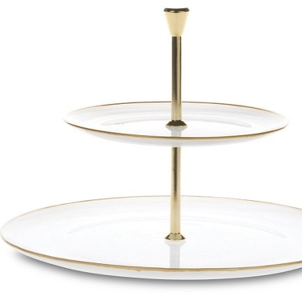 Two-Tiered Serving Tray $98.00