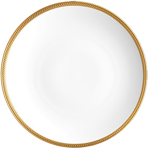 Soie Tressee Gold Dinner Plate $78.00