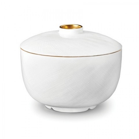 Han Gold/Soie Tressee Gold Rice Bowl with Lid   $90.00
